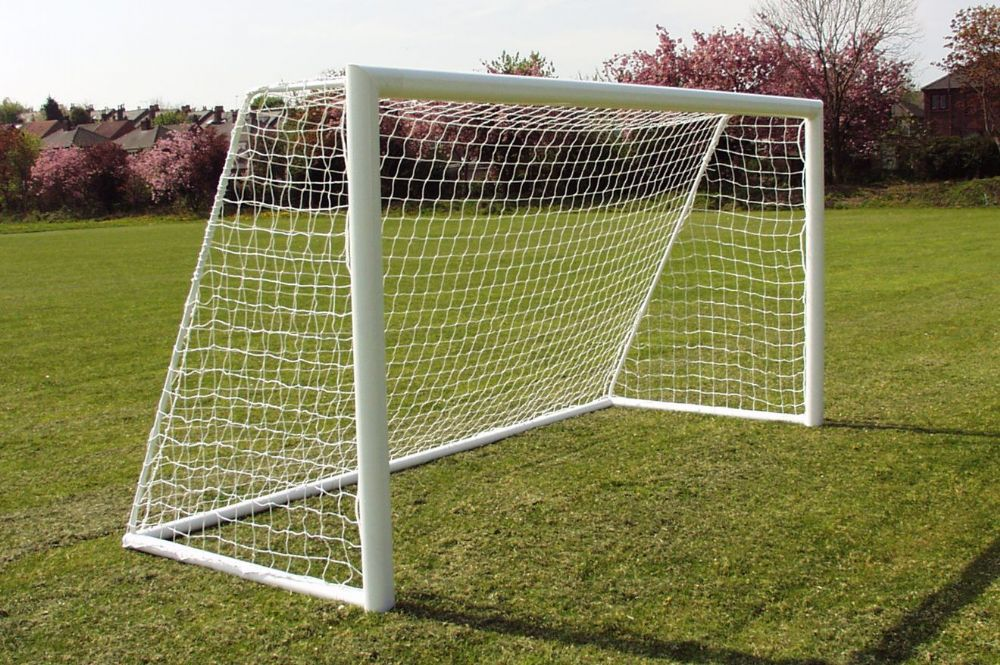 Movable 12x6 Goals with Swivel Wheels - 360 Degrees